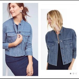 AG Obolo Denim Crop Jacket